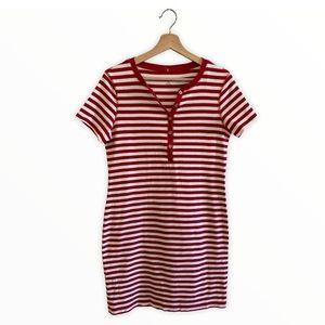 Karen Scott Sport / Striped Dress